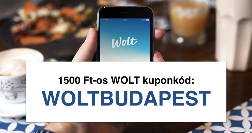WOLT kuponkod WOLTBUDAPEST
